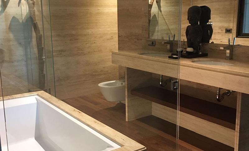 Reforma de una villa, cuarto de baño