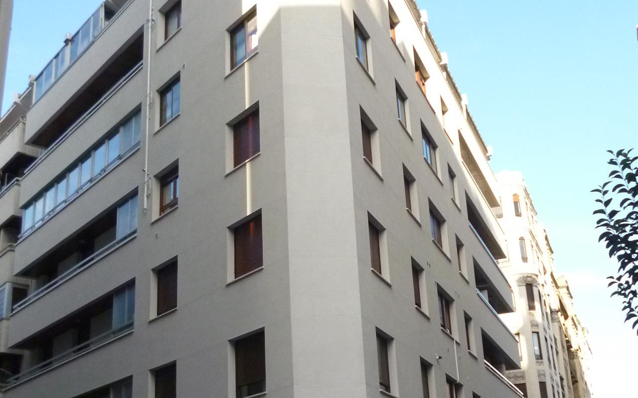Rehabilitación de las fachadas del edificio Trueba