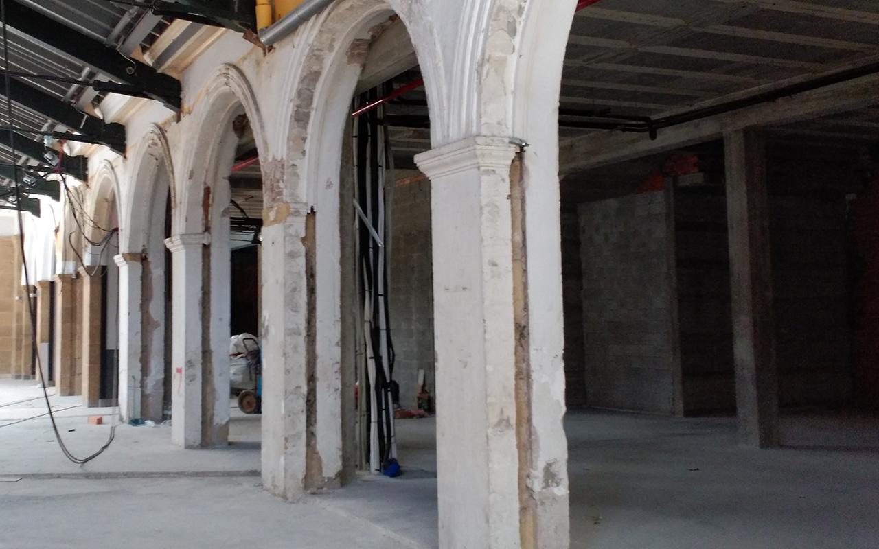 Bretxa Pilares y Arcos