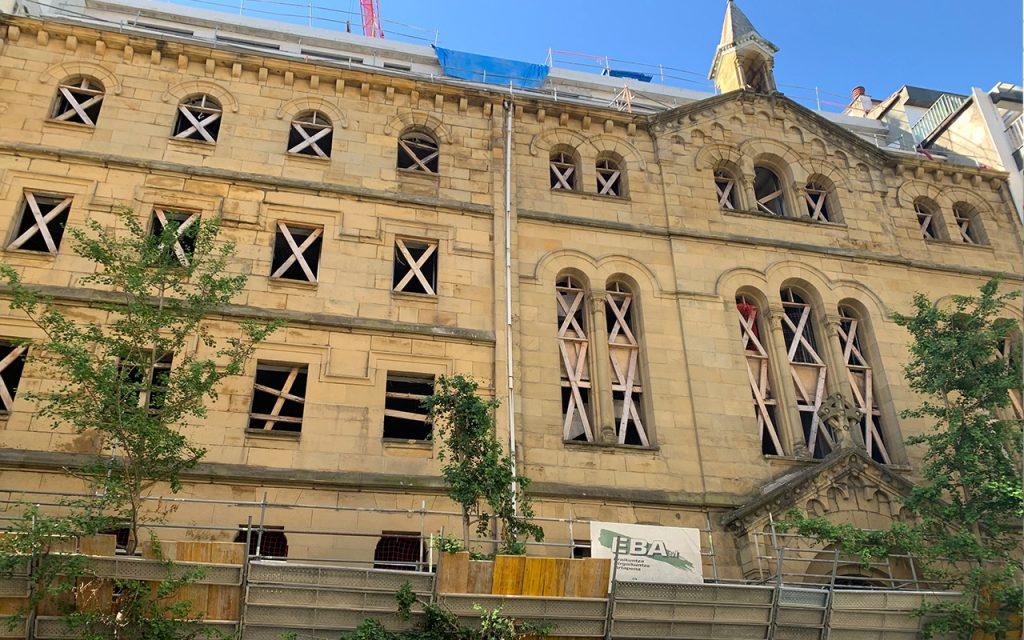 Primeros pasos en la restauración de patrimonio
