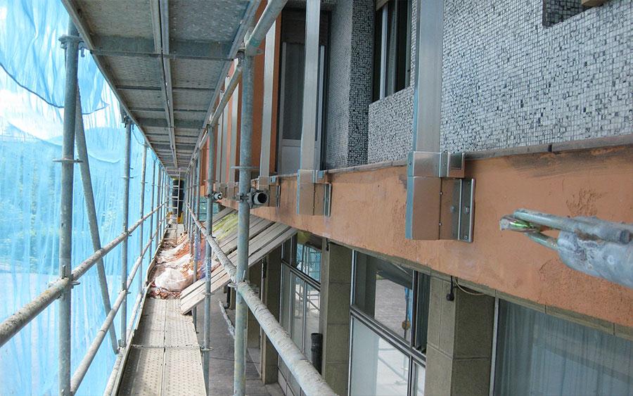 Rehabilitación de vivienda, aislamiento térmico del exterior de las fachadas
