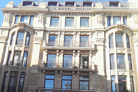 Restauración de Patrimonio en Hotel Plaza Lasala