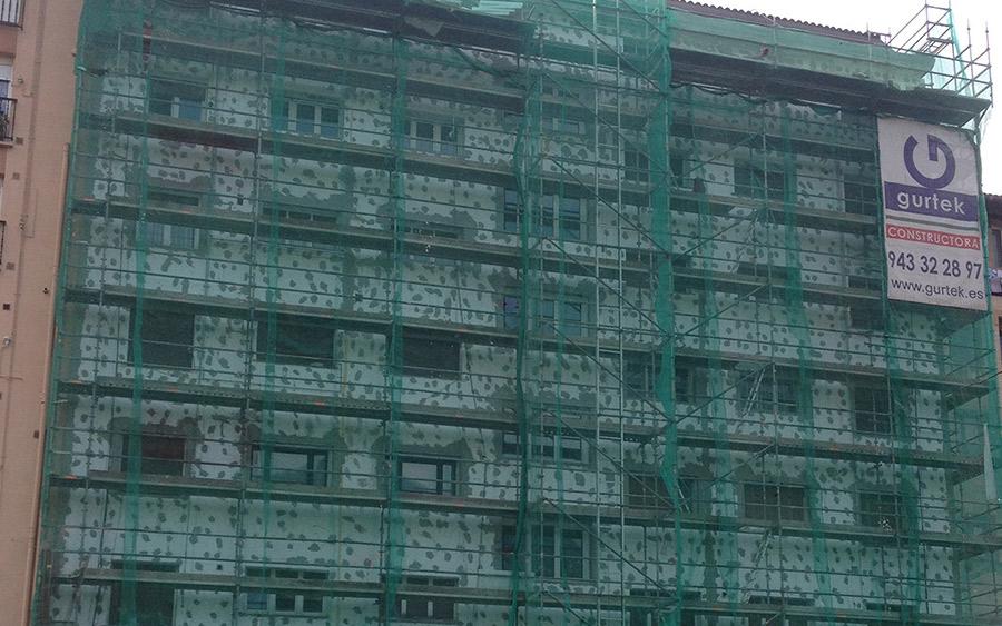 Aislamiento de fachada Térmico por el Exterior